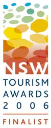 NSW Tourism Finalist Award 2006