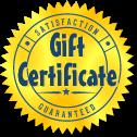 Gift Cerficate
